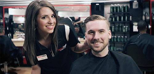 Sport Clips Haircuts of Baton Rouge - Arlington Marketplace​ stylist hair cut